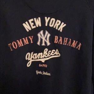 Tommy Bahamas'sYankees jacket. Men's large.